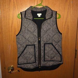 J.Crew Women's Herringbone Vest Size XS